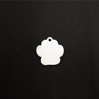 Acrylic Blank- Mini Dog Paw
