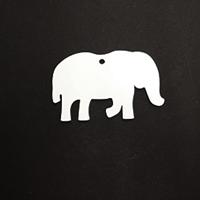 Acrylic Blank- Momma Elephant