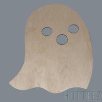 Wood Blank - O Ghost
