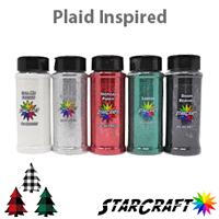 Plaid Glitter Bundle 4oz Shakers