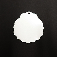 Acrylic Blank- Seashell