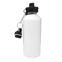 White 600 ml Water Bottle