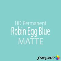 "StarCraft HD Permanent Adhesive Vinyl - MATTE - 12"" x 12"" Sheets - Robin Egg Blue"