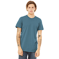 BELLA+CANVAS Unisex Jersey Short Sleeve Tee - Steel Blue