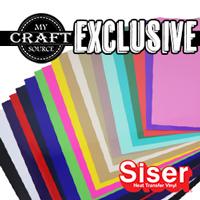 "Siser EasyWeed MCS Color Pack 12"" x 12"""