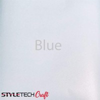 "Tape Technologies Etch Vinyl - Blue - 12""x12"" Sheet"