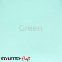 "Tape Technologies Etch Vinyl - Green - 12""x12"" Sheet"