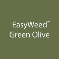 "Siser EasyWeed - Green Olive - 12""x12"" Sheet"