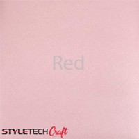 "Tape Technologies Etch Vinyl - Red - 12""x12"" Sheet"
