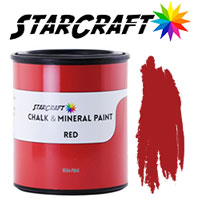 StarCraft Chalk Paint - Red