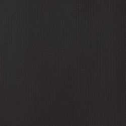 "American Crafts Weave Cardstock - Black 12"" x 12"" Sheet"