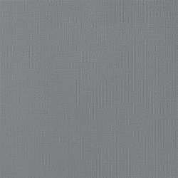 """American Crafts Weave Cardstock - Charcoal 12"""" x 12"""" Sheet"""