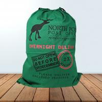 Santa Sack - Overnight Delivery - Green