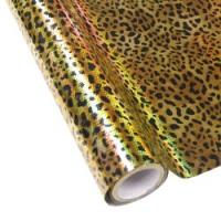"25 Foot Roll of 12"" StarCraft Electra Foil - Holographic Leopard"