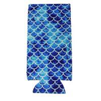 Can Cooler - Tall - Blue Mermaid