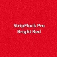 "Siser StripFlock Pro - Bright Red - 15""x12"" Sheet"
