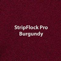 """Siser StripFlock Pro - Burgundy - 15""""x12"""" Sheet"""