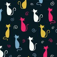 Adhesive  #268 Cats