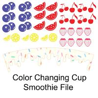 Color Changing Cup Smoothie