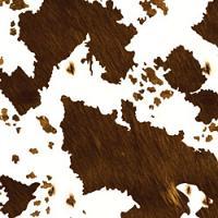 Printed HTV - #136 Real Brown Cowhide