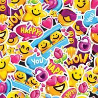 Adhesive  #224 Emoticons