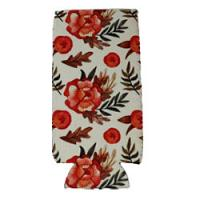Can Cooler - Tall - Fall Floral