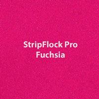 "Siser StripFlock Pro - Fuchsia - 15""x12"" Sheet"