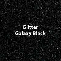 "Siser GLITTER Galaxy Black - 12""x12"" Sheet"