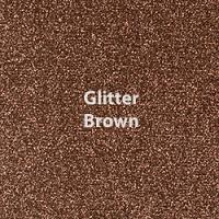 "1 Yard of 20"" Siser GLITTER - Brown"