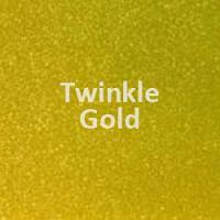 "Siser TWINKLE - Gold - 20""' x 12"" Sheet"