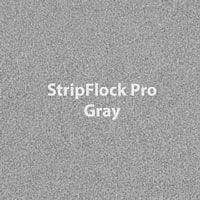 "Siser StripFlock Pro - Gray - 15""x12"" Sheet"
