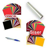 Heat Transfer Vinyl & Oracal 651 Starter Kit