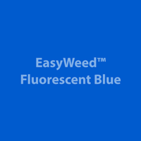 """1 Yard of 15"""" Siser EasyWeed - Fluorescent Blue"""