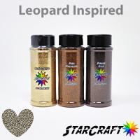 Leopard Glitter Bundle 4oz Shakers