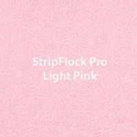 "Siser StripFlock Pro - Light Pink - 15""x12"" Sheet"