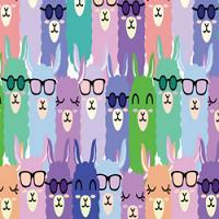 Adhesive #201 Llamas