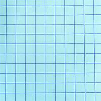 "Blue Grid - Clear Medium Tack Transfer Tape with Release Liner - 12""x12"""
