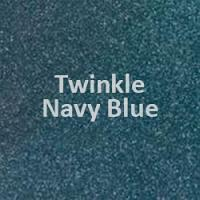 "Siser TWINKLE - Navy - 20""' x 12"" Sheet"