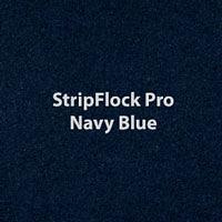 """Siser StripFlock Pro - Navy Blue - 15""""x12"""" Sheet"""