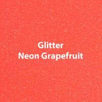 Siser Glitter Neon Grapefruit