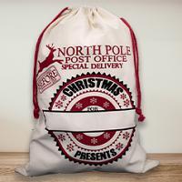 Santa Sack - North Pole Post Office