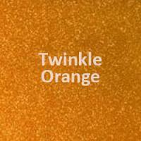 "Siser TWINKLE - Orange - 20""' x 1 Yard Roll"