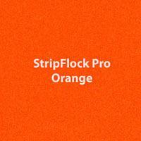 "Siser StripFlock Pro - Orange - 15""x12"" Sheet"