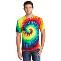 Port & Company® Tie-Dye Tee - Rainbow