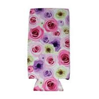 Can Cooler - Tall - Pastel Roses
