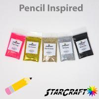 Pencil Glitter Bundle 0.5oz Bags