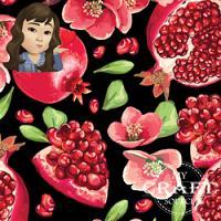 Adhesive  #247 Pomegranate