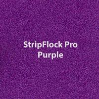 "Siser StripFlock Pro - Purple - 15""x12"" Sheet"
