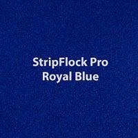"""Siser StripFlock Pro - Royal Blue - 15""""x12"""" Sheet"""