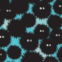 Adhesive  #276 Shaggy Monsters